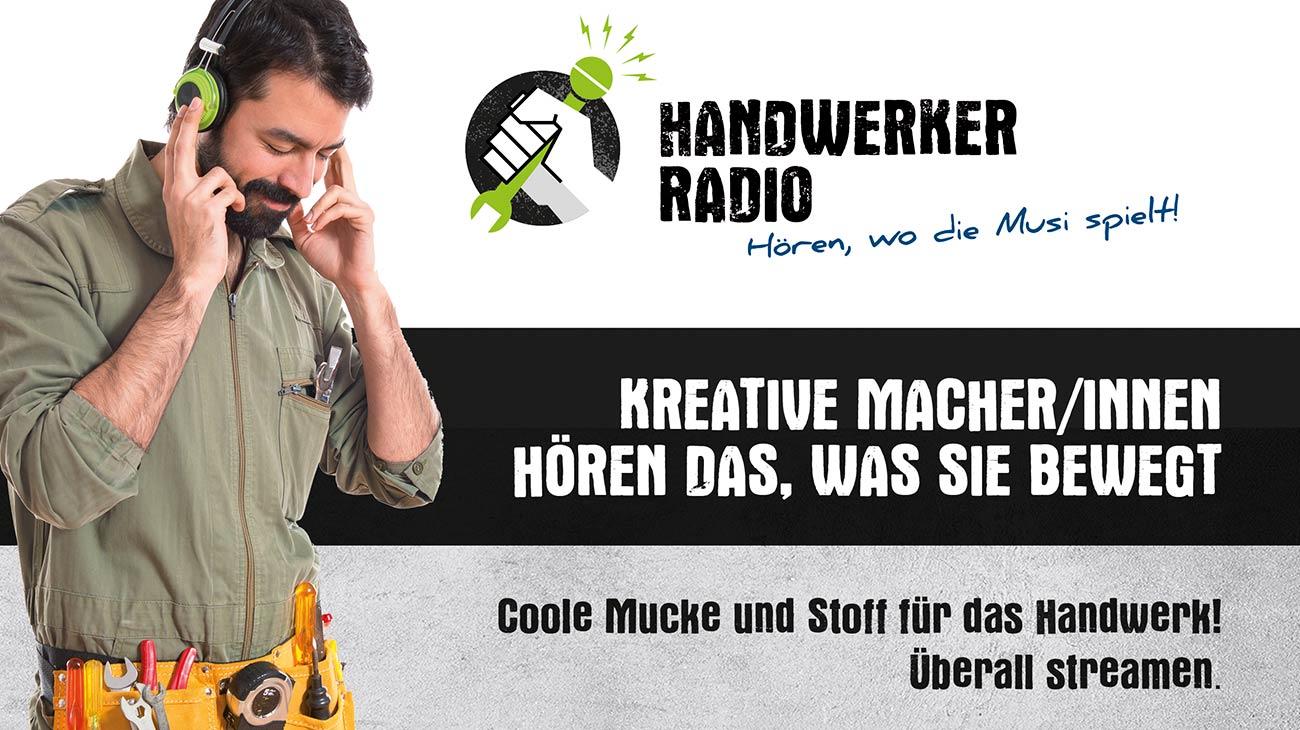 Handwerker-Radio-Werbung