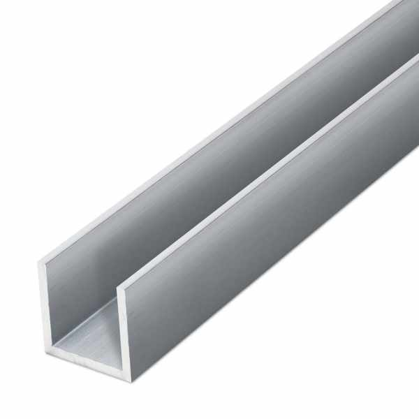 Aluminium-U-Profil EN AW-6060